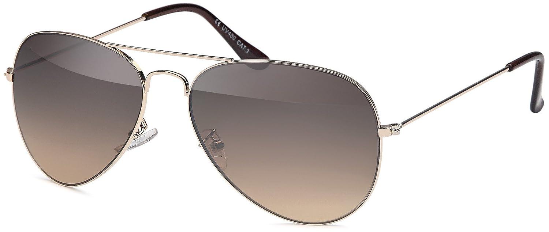 Feinzwirn - Gafas de sol de estilo aviador (cristales ...