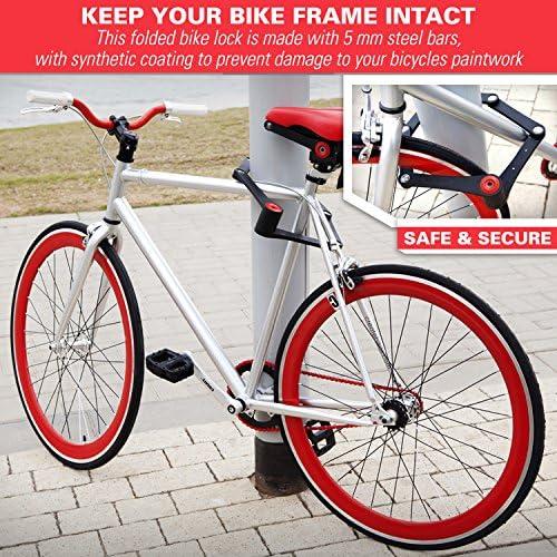 Indestructible Steel Folding Bike Lock FoldLox™