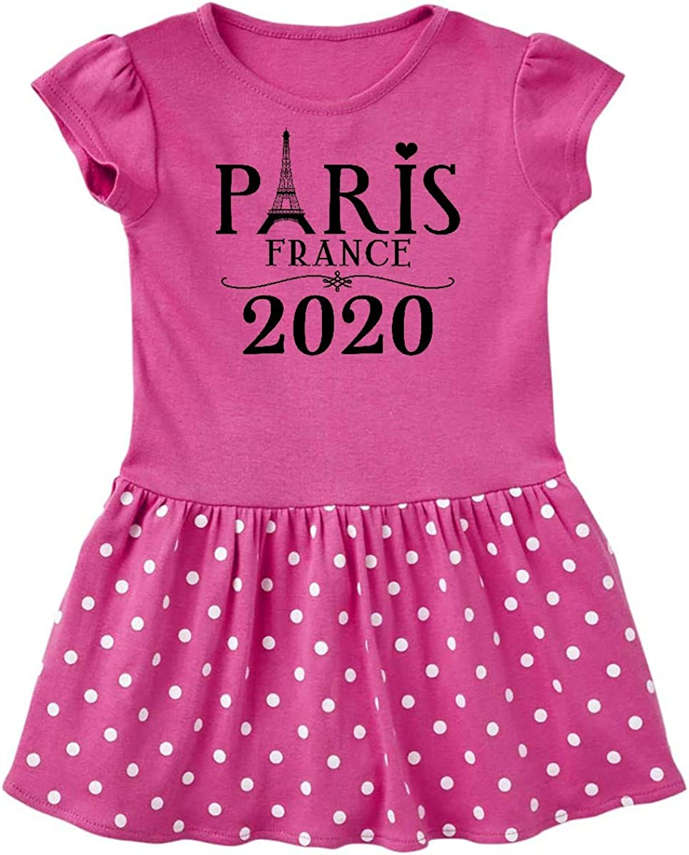inktastic Paris France 2019 Vacation Trip Toddler T-Shirt
