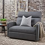 Christopher Knight Home 301302 Hana Recliner Fabric/Charcoal