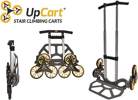 Upcart 200lb Capacity 3 Wheel Cart Stairs