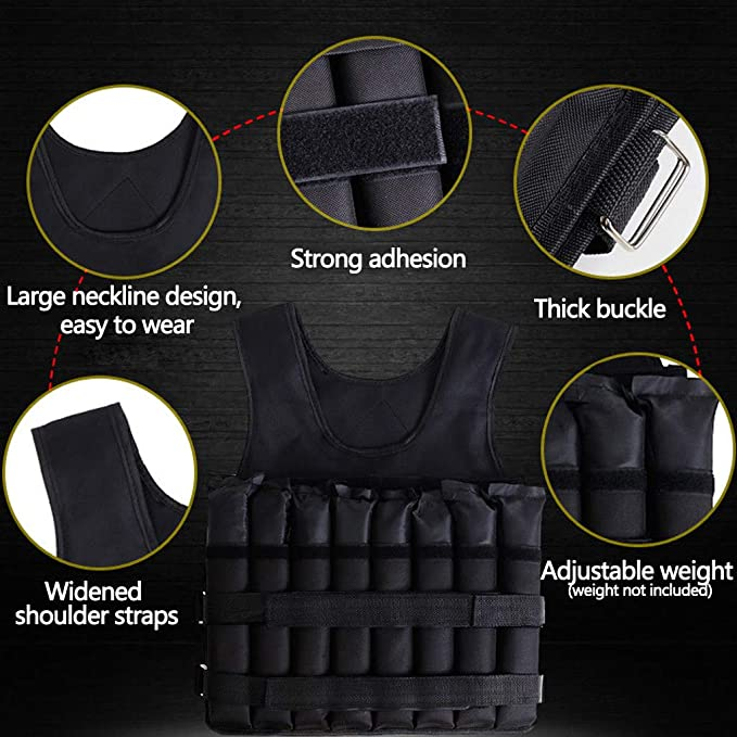 The 8 Best Weighted Vests for 2021 [Reviews and Buying Guide] 5
