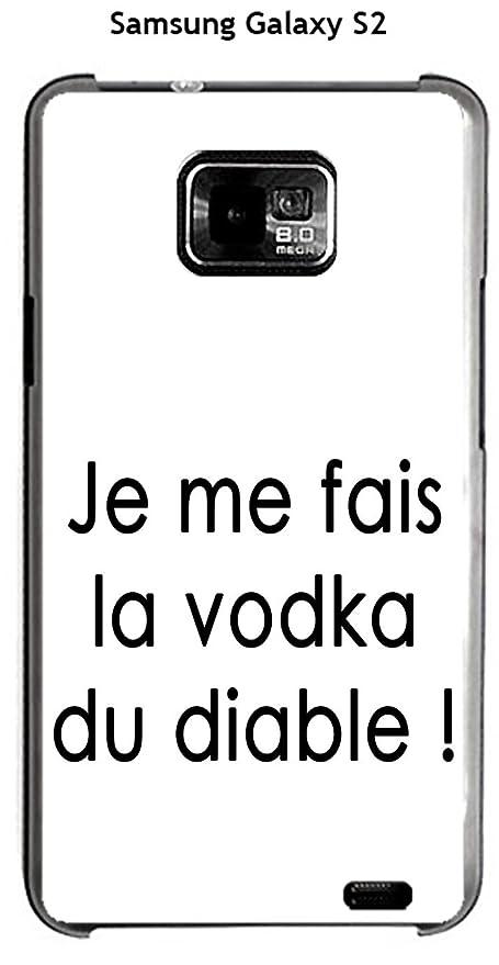 Onozo Carcasa Samsung Galaxy S2 diseño citación Je me fais ...