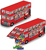 Beistle 54122 Double Decker Bus Centerpiece (3-Pack)