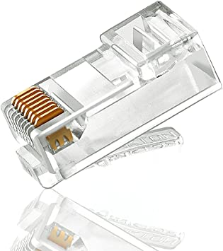 RJ45 Crystal 8 Pin Laptop Ethernet Cat5 Head Ethernet Network Cable Cable