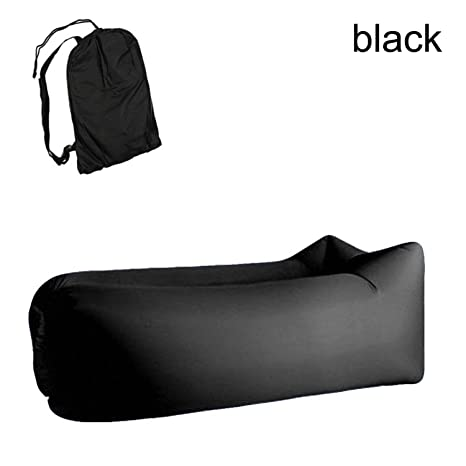 Camp Sleeping Gear Light Sleeping Bag Waterproof Inflatable Bag Lazy Sofa Camping Sleeping Bags Air Bed Adult Beach Lounge Chair Fast Folding Camping & Hiking