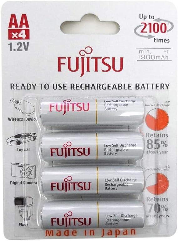 Fujitsu Akku 4st Aa 1900mah Standard Readytouse Akku Elektronik