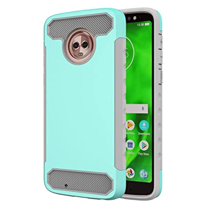 Amazon.com: Moto G6 Case,DAMONDY 2 in 1 Drop Protection ...