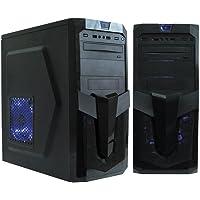 Gabinete Gamer K-MEX CG-01R1 Excalibur sem Fonte Preto