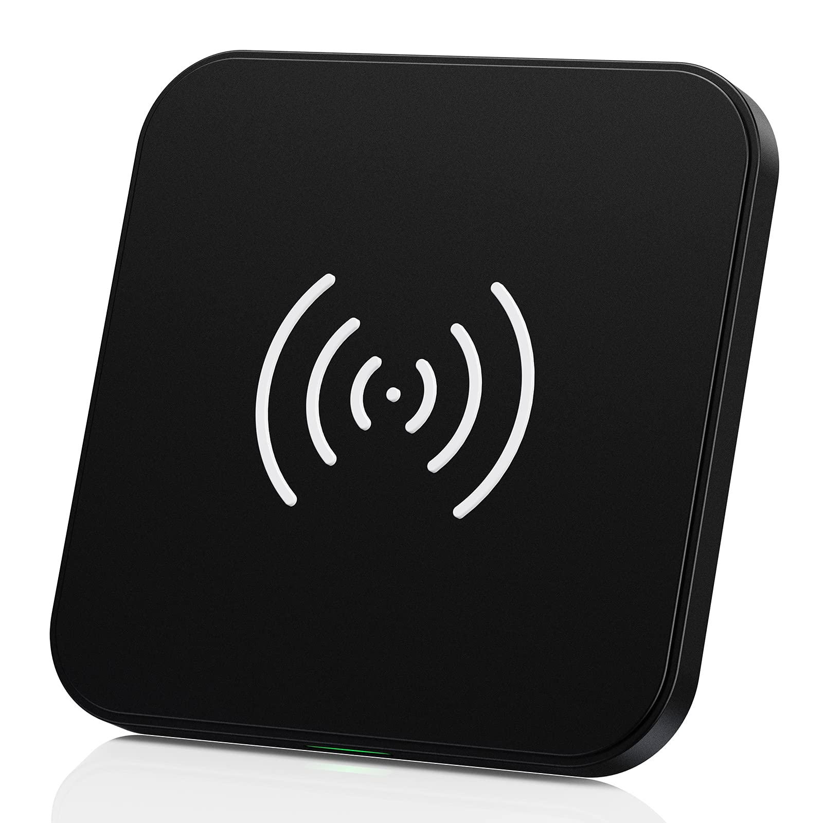CHOETECH Wireless Charger, 10W Max Qi-Certified Fast Wireless Charging Pad Compatible with iPhone 11/11 Pro/11 Pro Max/XS Max/X, Samsung Galaxy Note 10/Note 10+/S10+/S9, AirPods Pro, black (T511-000)