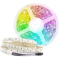 Arotelicht LED Strip,5M,12V,300 LEDs,5050SMD RGB,IP65 waterdicht,16 Miljoen Kleure,Gemakkelijk te installeren, geschikt…