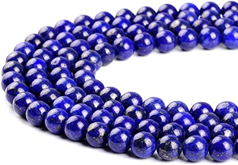 "Lapis Lazuli Faceted Round Gemstone Loose Beads 2mm//3mm//4mm 15.5/"" Long"