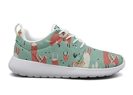 99495c59ed0f33 NUMOB Men s Alpaca Llama cactus grass Sneakers Breathable Casual Sport Shoes