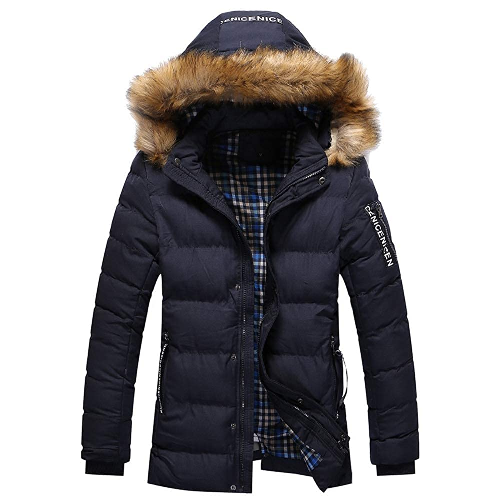 Verdickender Übergröße Winterjacke Tarnen Bluse Mantel Winter Manadlian Outwear Herren Männer OyvnwNPm80
