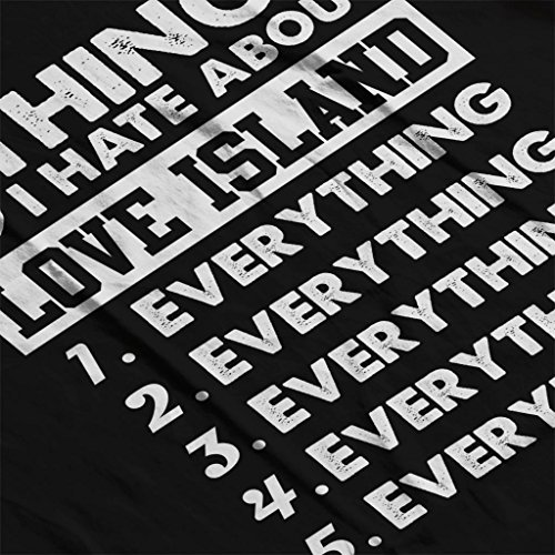 Island Black 5 Coto7 Love Hate Things I Sweatshirt About Women's zHqHY1w