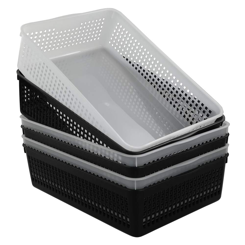 HOMMP Plastic A4 Paper Storage Baskets, Set of 6 Homeproduct