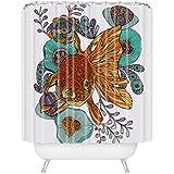 Deny Designs Valentina Ramos Little Fish Shower Curtain Extra Long, 69 x 90