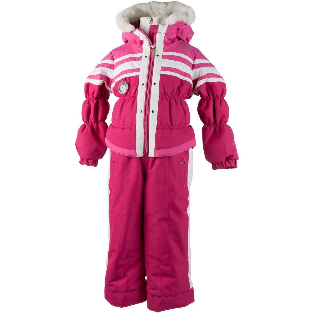 Obermeyer Kids Baby Girl's Skiter Suit (Toddler/Little Kids/Big Kids) Glamour Pink Suit by Obermeyer Kids