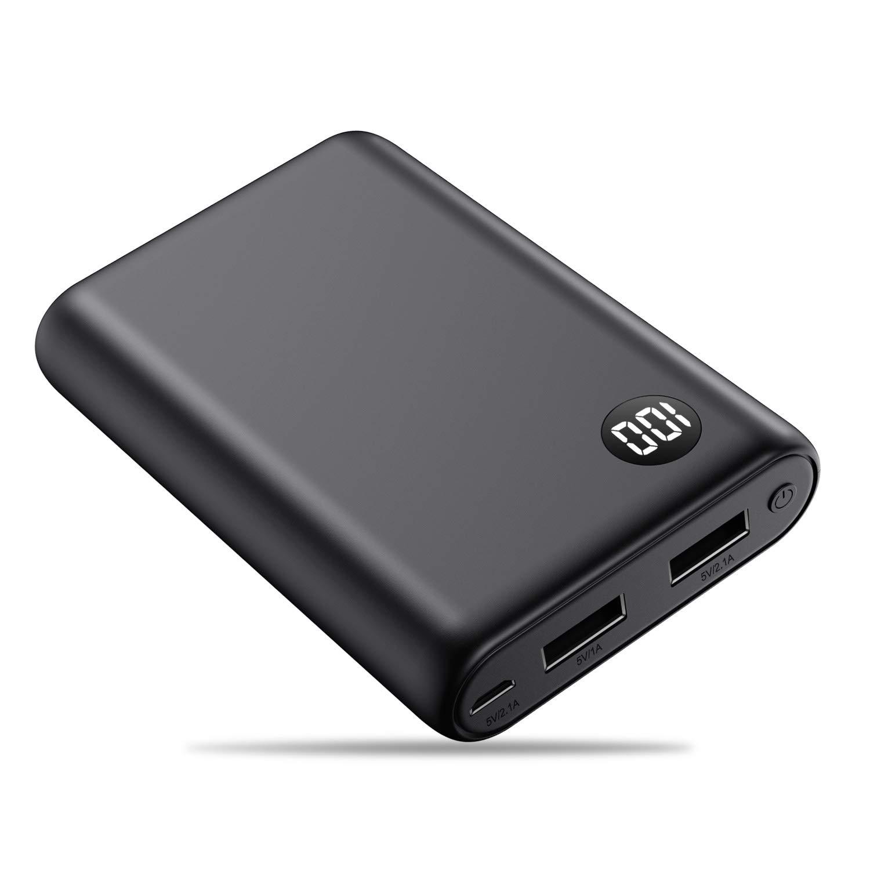 Kilponen Power Bank 13800mAh Batería Externa Cargador Móvil Portátil Ultra Compacto 2 Salidas USB con Ultra Alta Capacidad para Huawei,Xiaomi ...