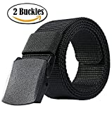 ALAIX Nylon Military Tactical Mens Waist Belt with Double...