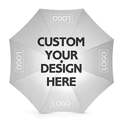 2885d397e08f5 Amazon.com: Custom Umbrellas Gift Design Your Logo or Image Personalized  Print Rainy/Sunny Foldable Windproof Diy Advertising: nictime