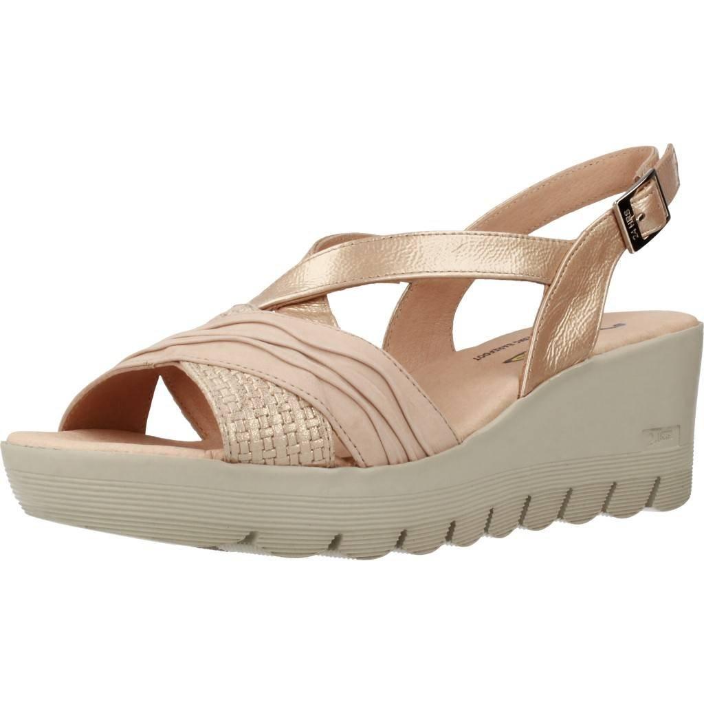 Sandalias y Chanclas para Mujer, Color Metálico, Marca 24 HORAS, Modelo Sandalias Y Chanclas para Mujer 24 HORAS 23626 Metálico: Amazon.es: Zapatos y ...