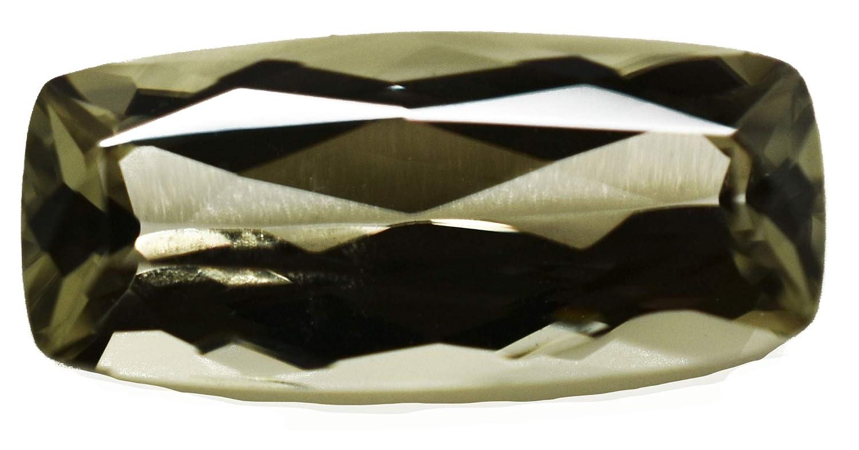 2.38 CT。Zultanite自然色変更がLoose宝石12.5 X 5.5 MMクッションカットのCert AUTH a122   B077R7FHY8