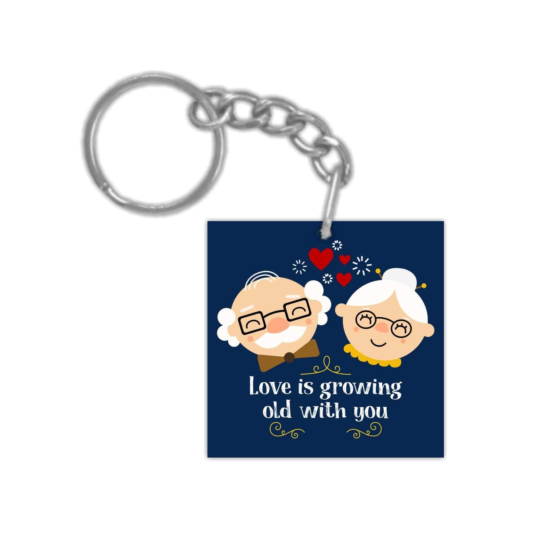 Keyring Valentine Gifts for Husband Wife