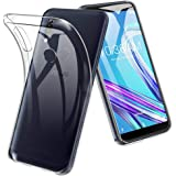 ASUS ZenFone Max Pro (M1) (ZB602KL) ケース TopACE クリア スリム TPU カバー 落下 衝撃 吸収 擦り傷防止 ASUS ZenFone Max Pro (M1) (ZB602KL) 用 カバー (ASUS ZenFone Max Pro (M1) (ZB602KL),クリア)
