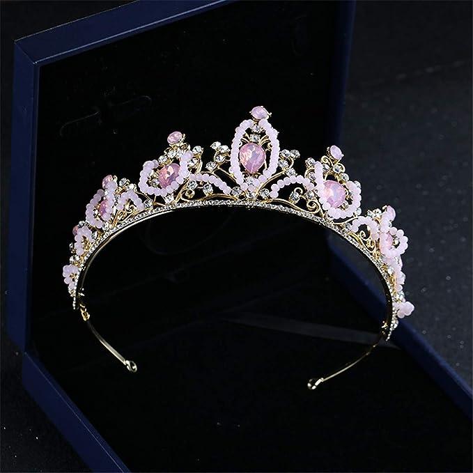 XSWZAQ Niñas Barroco Corona Headwear niños de la Princesa ...