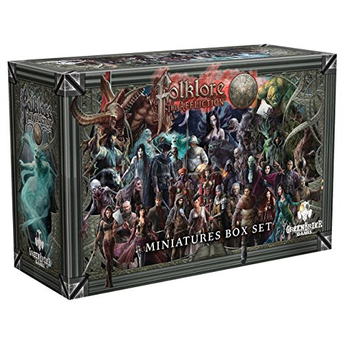 Greenbrier Games Folklore: The Affliction Miniatures Box Set by GreenBrier Games