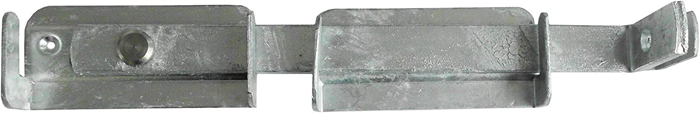 verzinkt DY2901721 Connex Gartendoppeltor-/Überwurf 325 x 55 mm