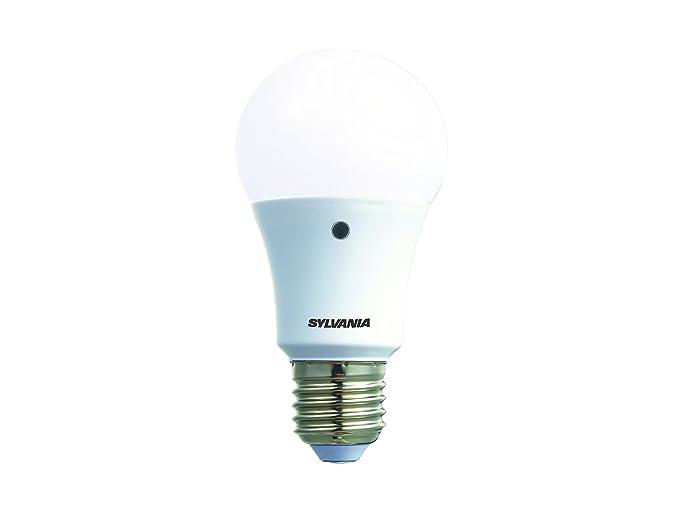 Sylvania 0027546 Toledo gota Light Sense E27, 8.5 W, blanco, 12 x 6.4