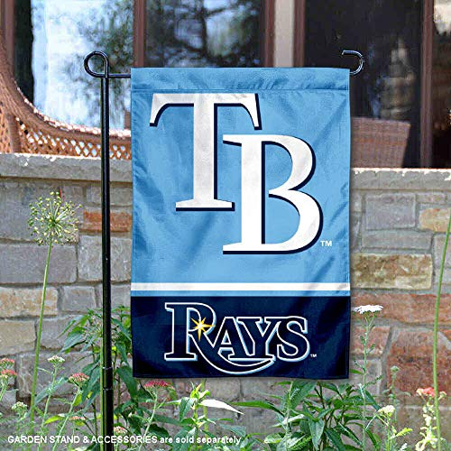 Tampa Bay Rays Window - WinCraft Tampa Bay Rays Double Sided Garden Flag