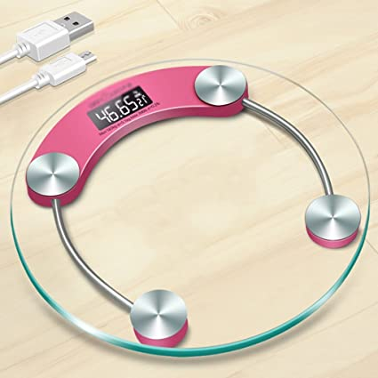 DWW-escala de peso Báscula de pesas Electrónica hogareña para adultos de precisión de salud
