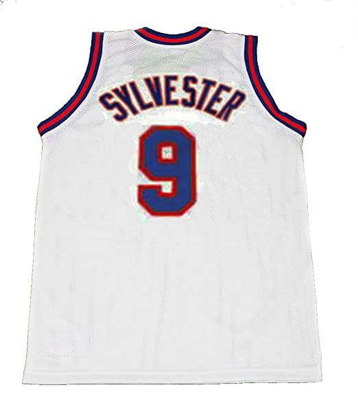 Space Jam Tune Squad Basketball Jersey TWEETY 1//3# White Ship From USA Throwback