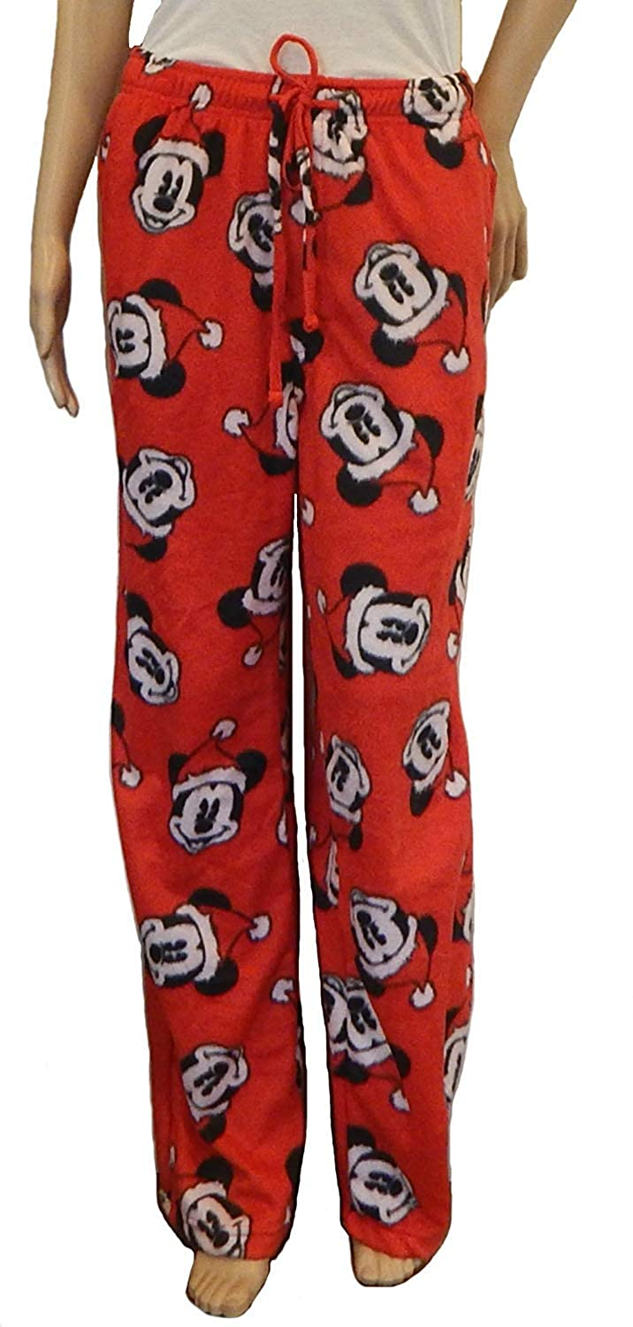 Mickey Mouse Women s Junior Plush Minky Pajama Lounge Sleep Bottom Pants  (X-Large) at Amazon Men s Clothing store  391b7bbb5
