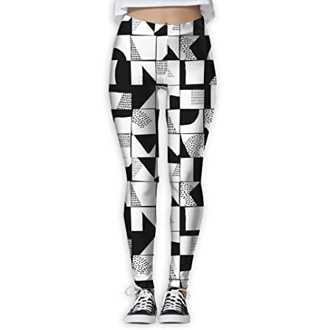 b4bf5c767710a Suining Womens Black White Style Thin Tight Athletic Yoga Pants Leggings