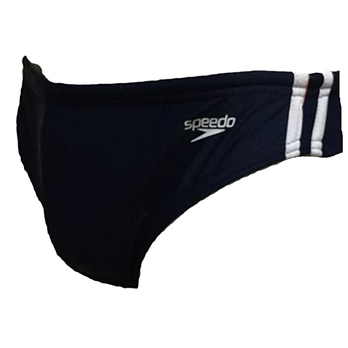 b45333a8dc9 Amazon.com: Speedo Men's Shoreline Solid Swim Brief Swimsuit Bottom ...