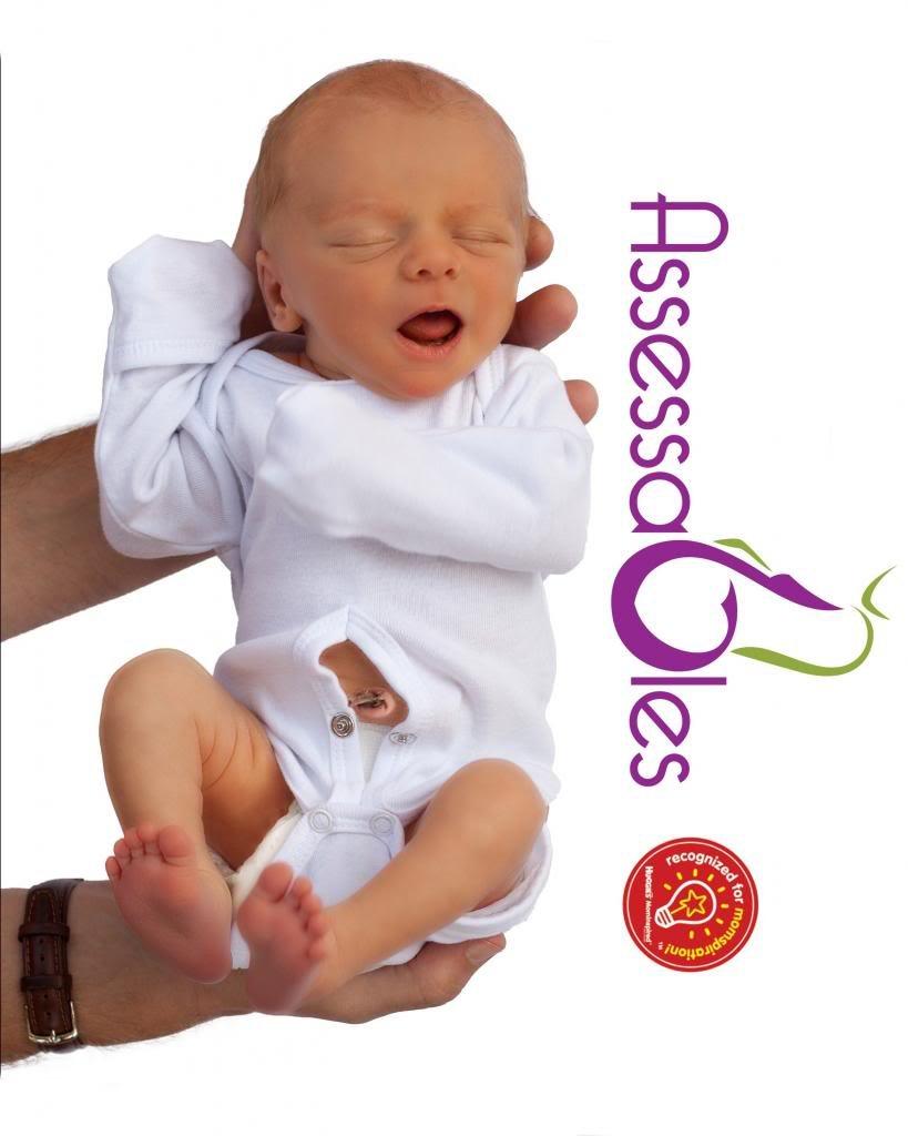 Amazon.com: assessables recién nacido Unisex Onesie Bodysuit ...