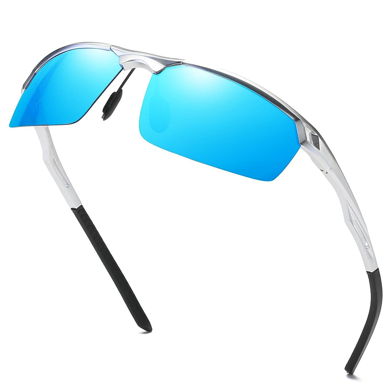 Duco Men's Sports Style Polarised Sunglasses Driver Glasses 8550 8550-04-DE