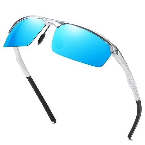 Gafas de sol de marco polarizadas gafas de sol estilo deportivo Duco para hombre 8550 (