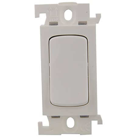LEGRAND Polycarbonate Mylinc 16A 1-Way Switch 675511 (White) Switches & Dimmers at amazon