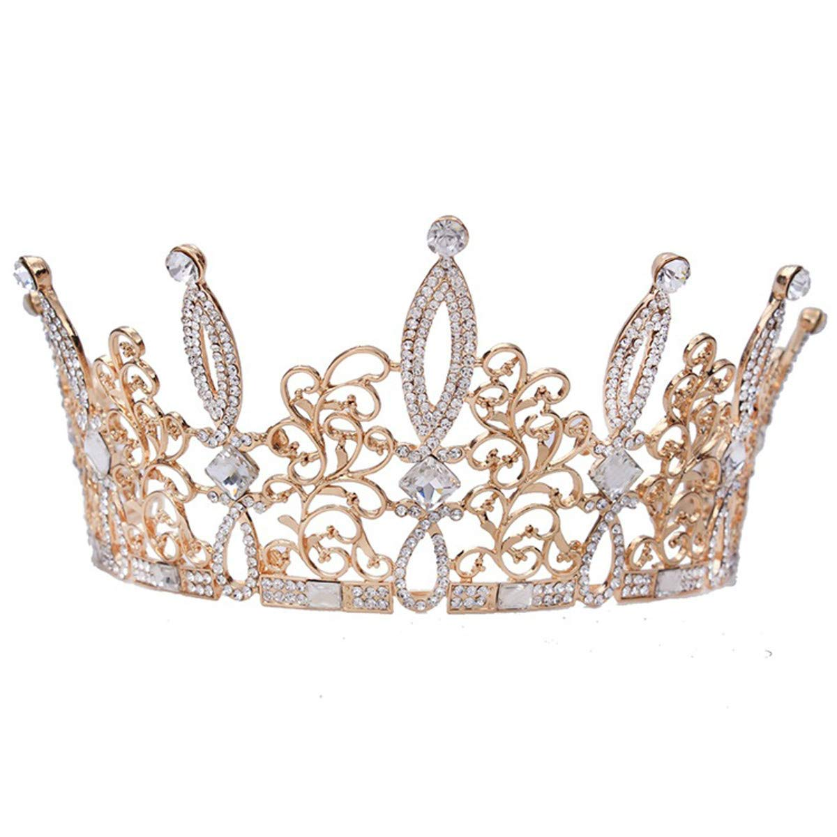 Crystal Crown, Bridal Wedding/Prom Hair Pins/Headdress Accessories/Party/Girls Crown Ornaments Hair Accessories Water Drill Wedding Dress Accessories