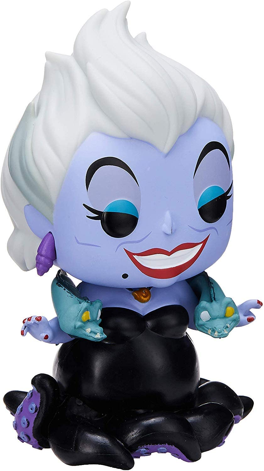 Funko- Pop Figura de Vinilo: Disney: Little Mermaid-Ursula w/Eels ...