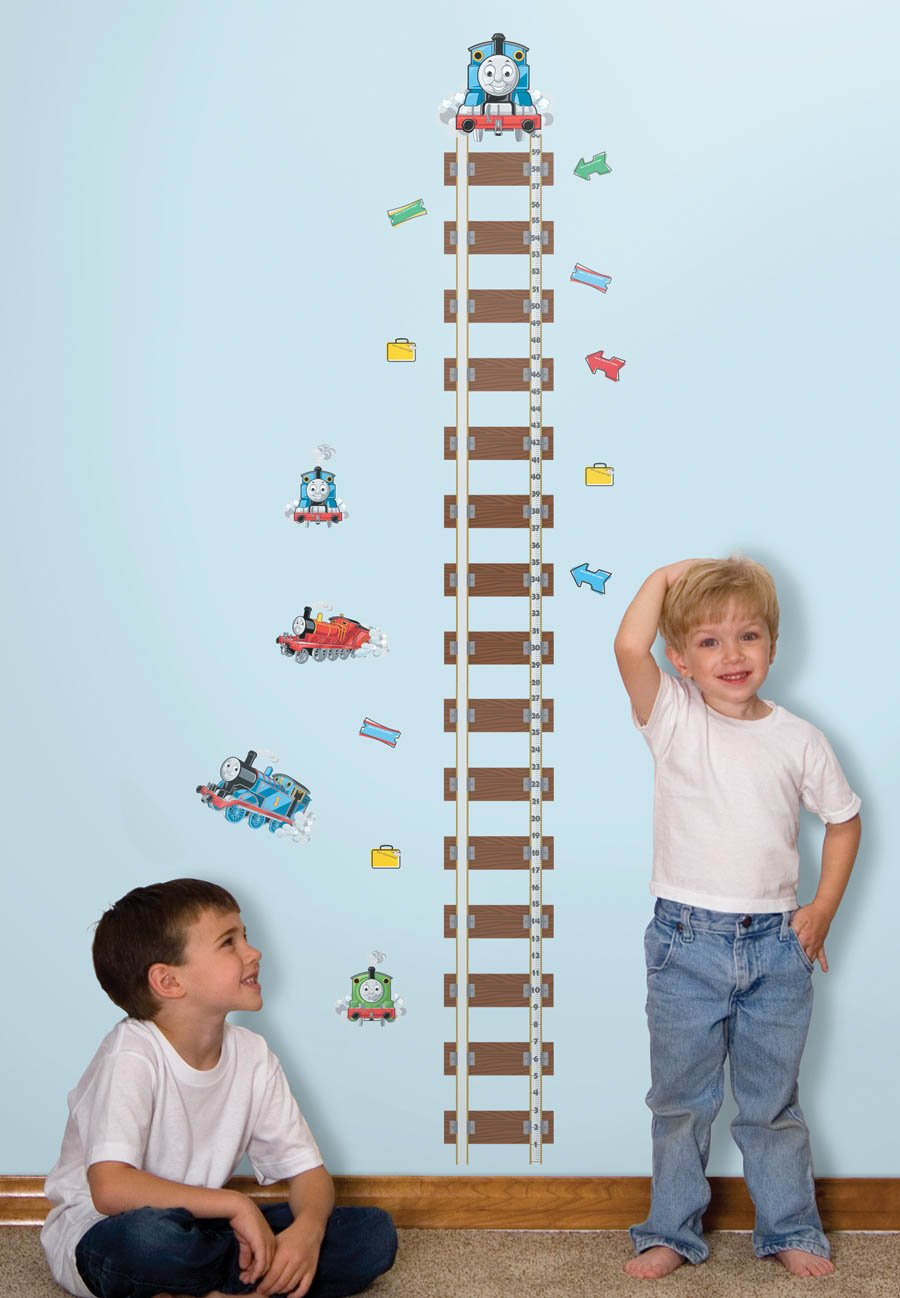 Thomas & Friends Wall Decal Growth Chart 6''x60''