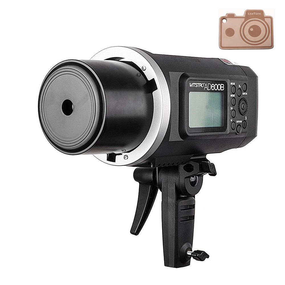 Godox Wistro AD600B TTL All-in-One Powerful Outdoor Flash with 2.4G X System Build-in 8700mAh Li-on Battery for DSLR Cameras (AD600B)