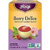 ヨギティー (Yogi Tea) ベリーデトックス 16bags [海外直送品]