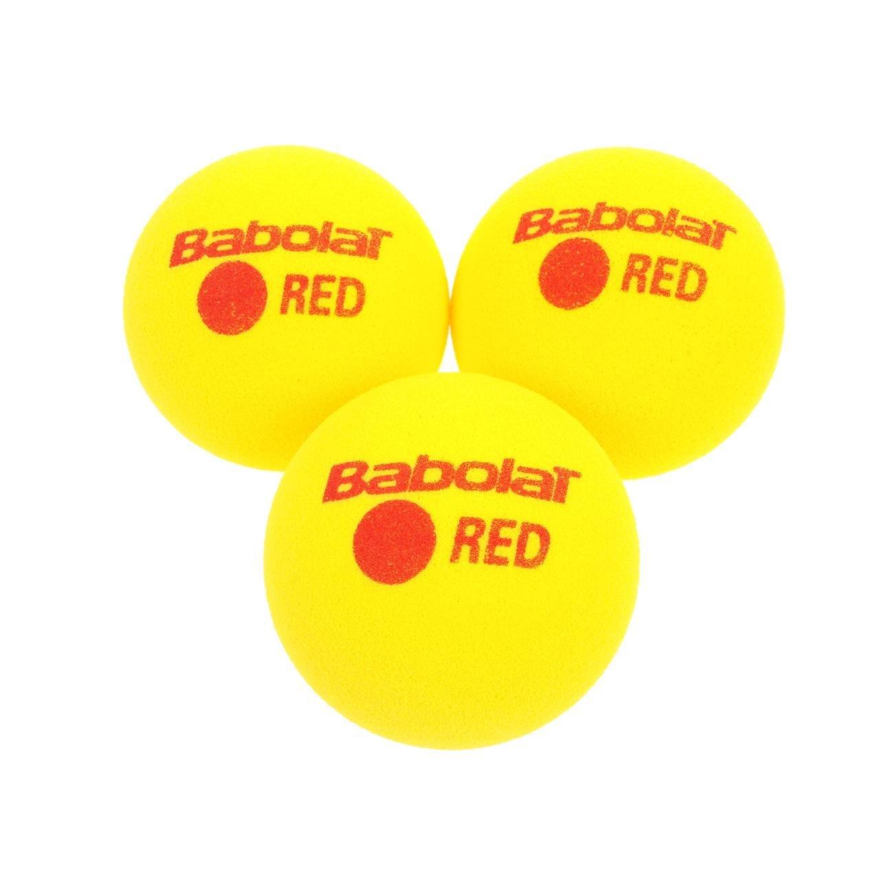 Babolat Red Foam X3 Pelota de Tenis, Unisex Adulto, Amarillo ...