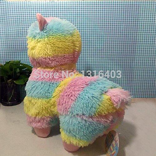 Amazon.com: 2015 Brinquedos 35cm Rainbow Alpaca Plush Toys Adora Doll Japan Alpaca Alpacasso Peluches Animal Sheep Llama Stuffed Toy: Baby